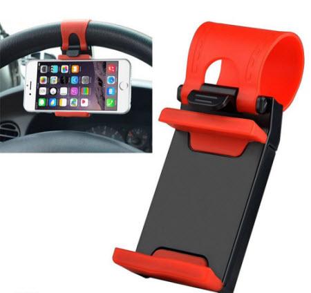 Kẹp điện thoại vô lăng xe hơi